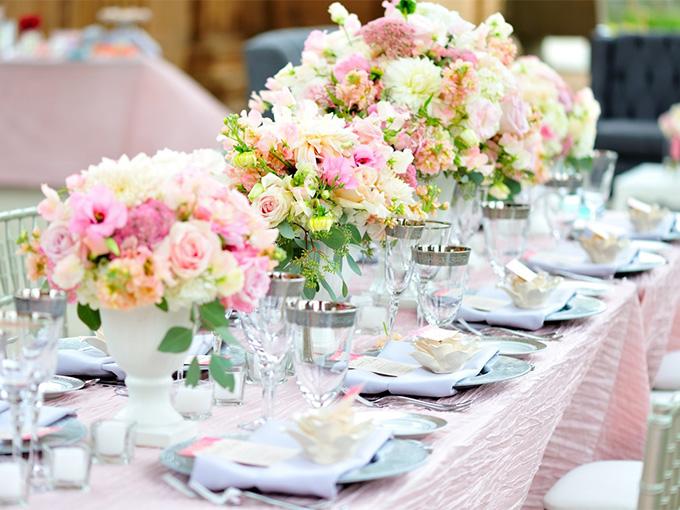 Оформления свадьбы цветами