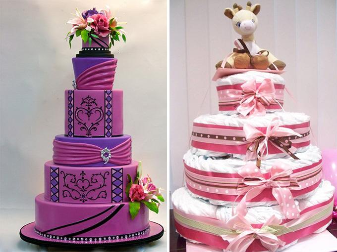 Торт из мастики на свадьбу