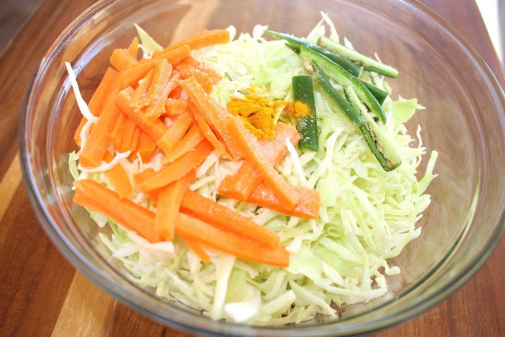 Капустно-морковная диета