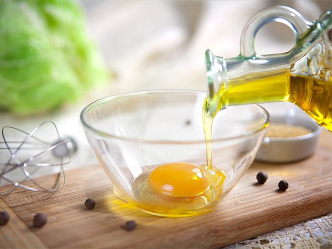 Маска из яиц и растительного масла