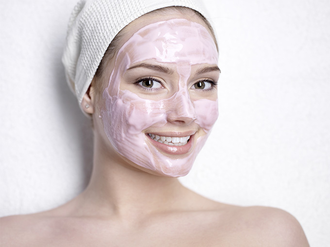 Маска сухой шелушащейся кожи
