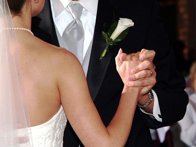 Классический свадебный танец жениха и невесты