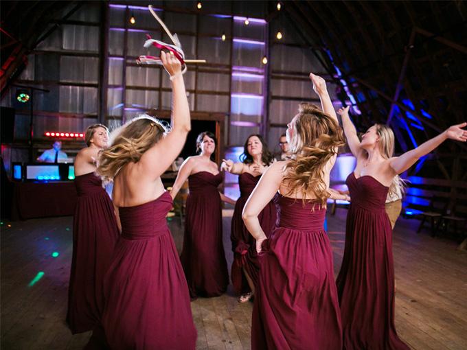 Свадебный танец невесты и подружек