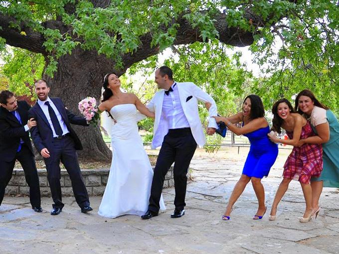 Молодежная свадебная фотосъемка