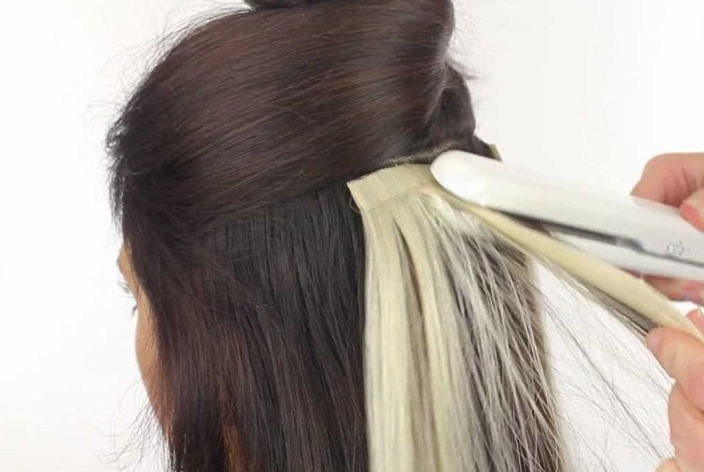 Наращивание волос фото на свадьбу