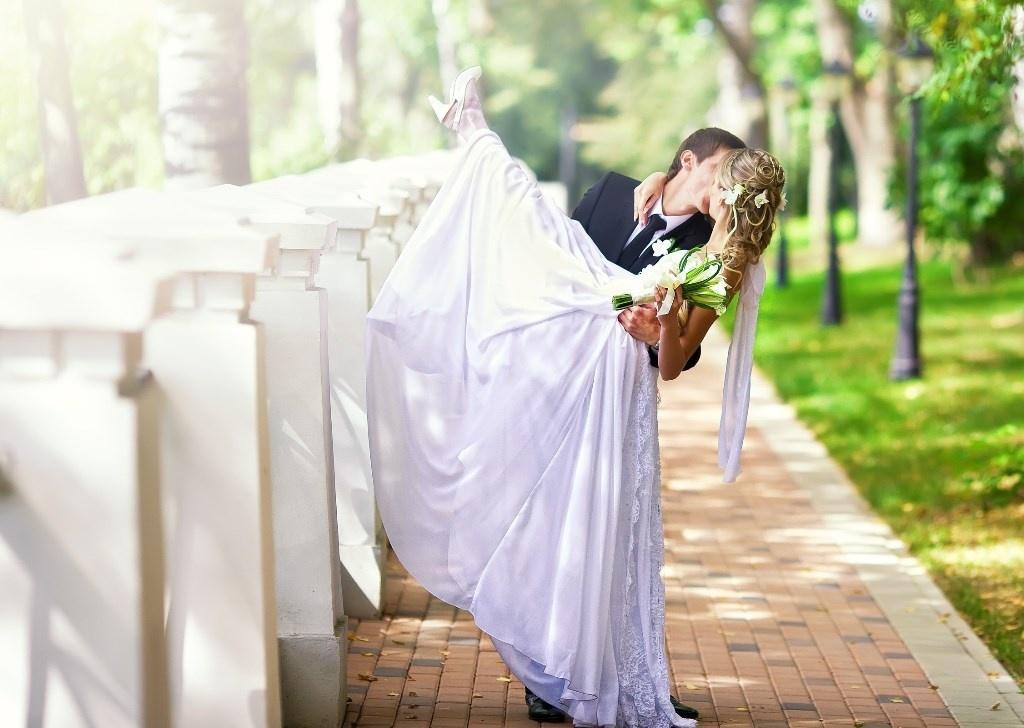 Свадебная фотосъемка шикарной свадьбы