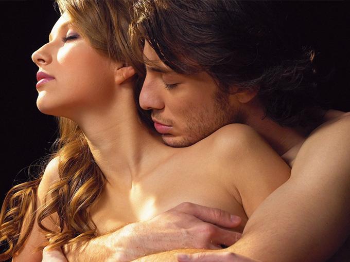 Секс с женской груди