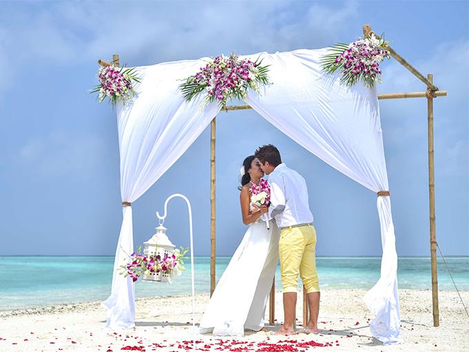 Свадебная церемония на Мальдивах
