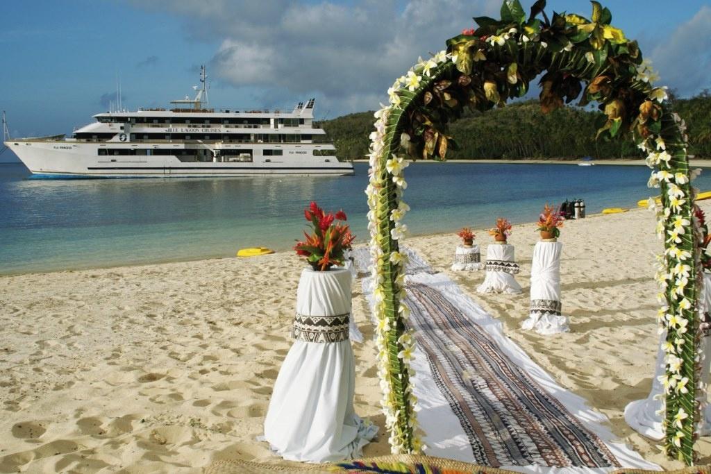 Свадьба на Багамских островах