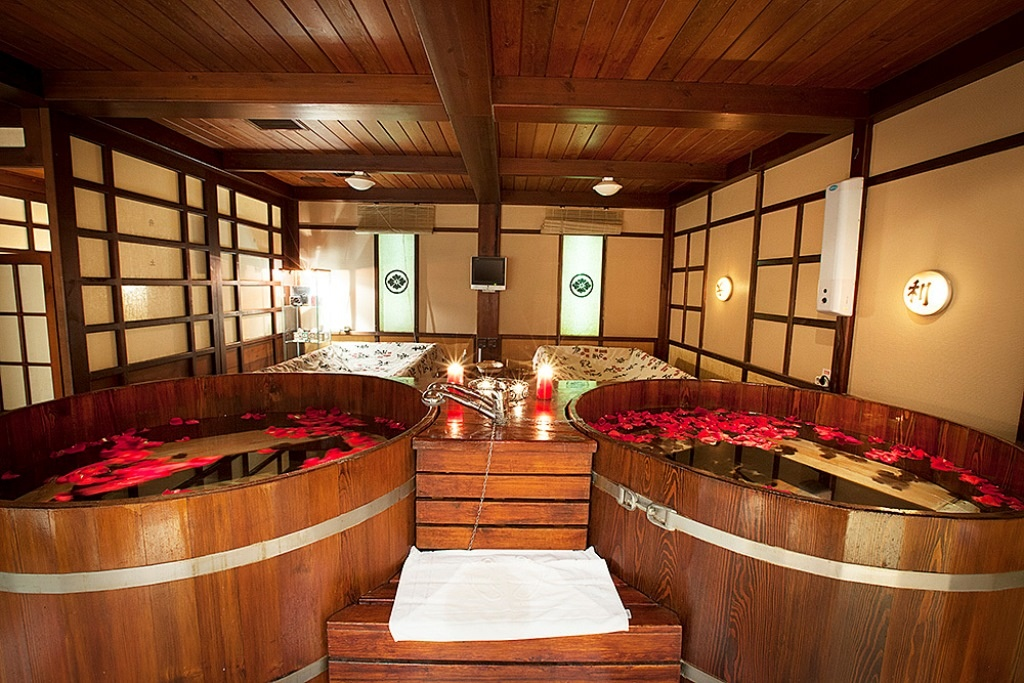 японская баня (о фуро)