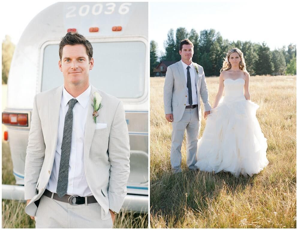 Летние мужские свадебные костюмы