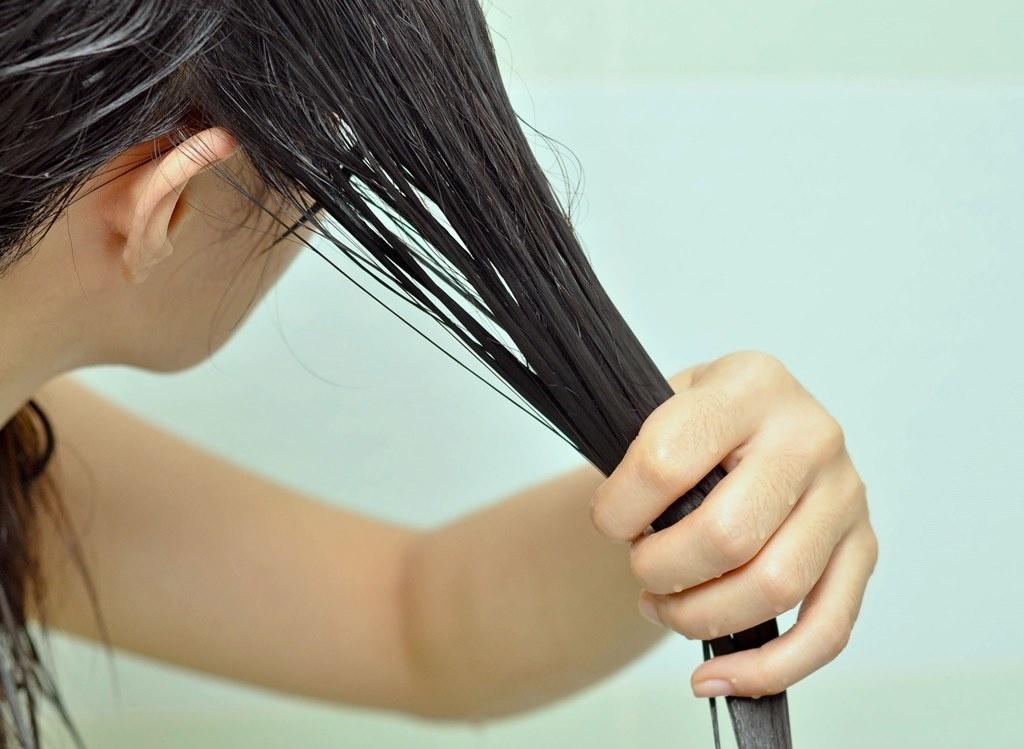 Затемняем волосы