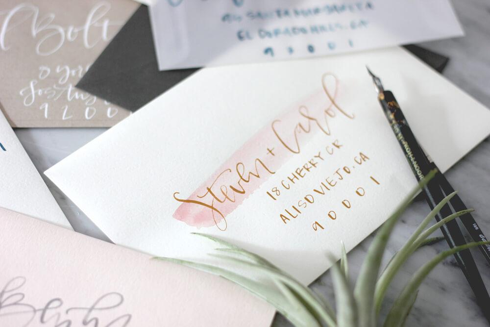 Искусство каллиграфии в создании свадебной полиграфии