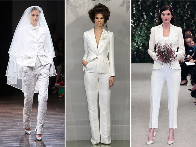 Женские свадебные костюмы-1