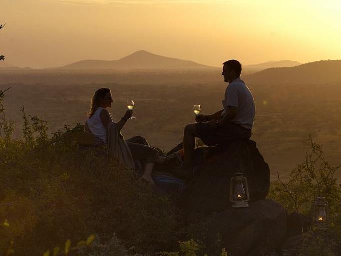 Экстремальное и необычное свадебное путешествие в Африку