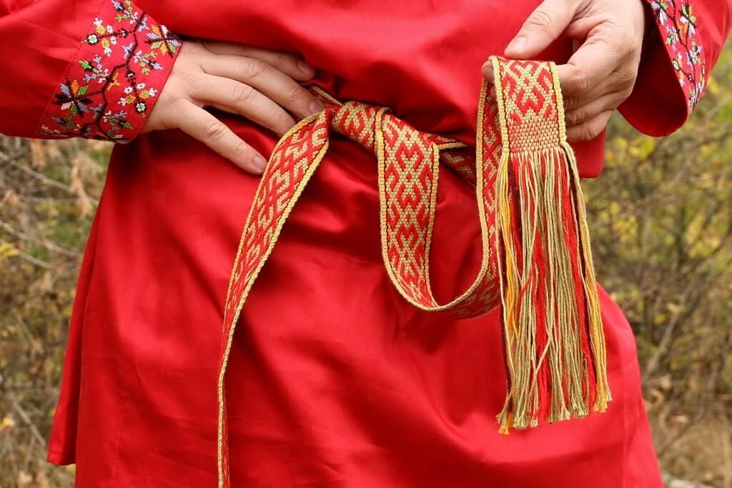 Русский народный свадебный костюм для жениха
