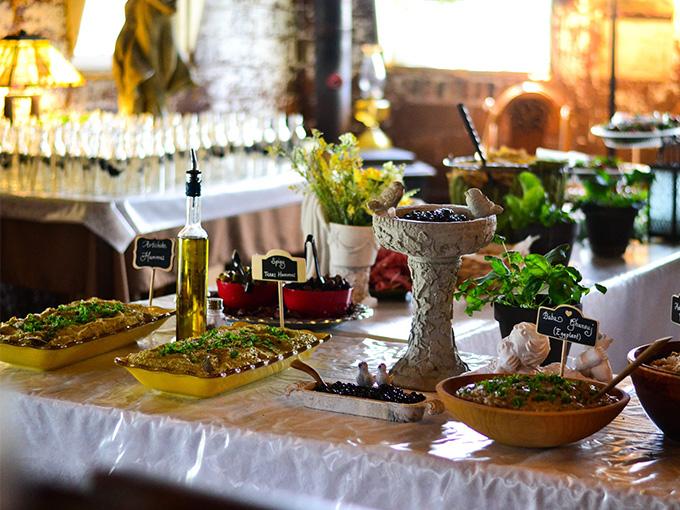 Свадебные блюда