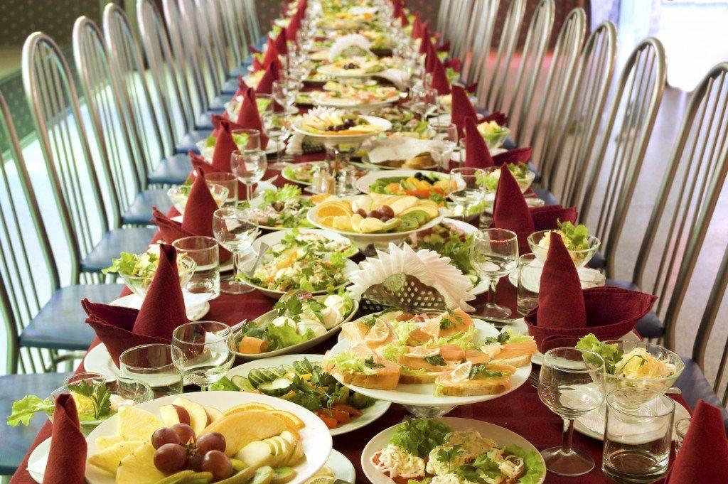 Свадебное меню для вегетарианцев
