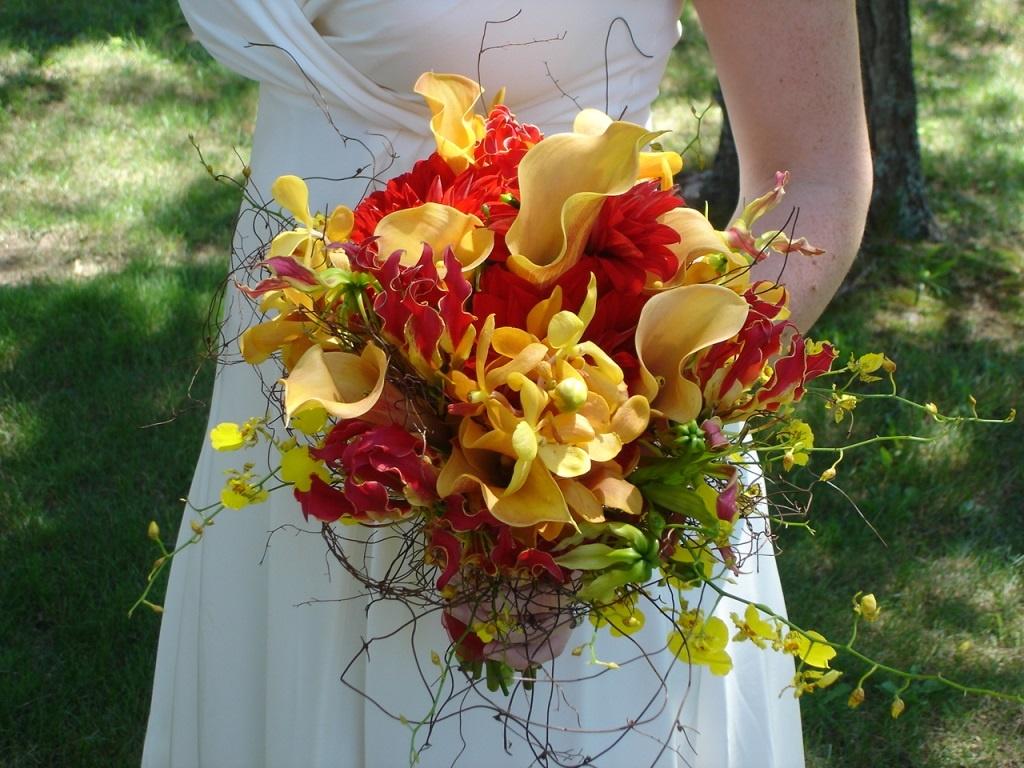 Лучший летний букет для невесты