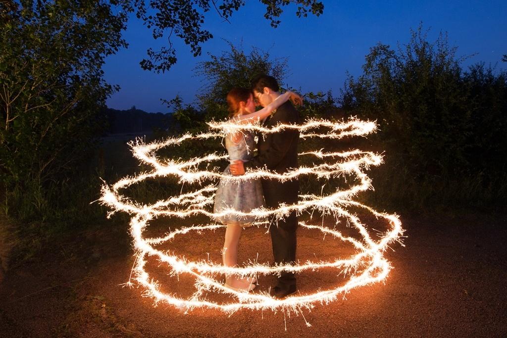Спецэффекты для свадебных танцев