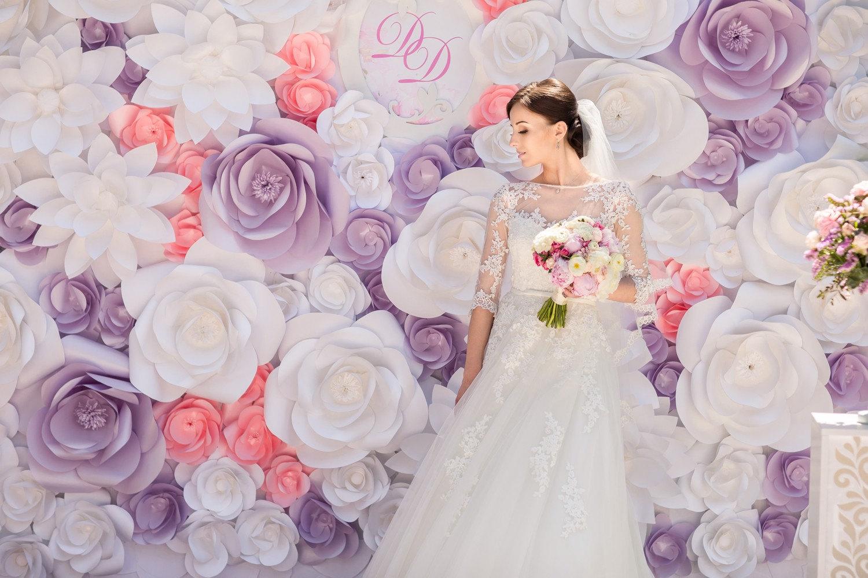 Paper flower for wedding