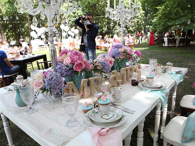 Свадьба стиле шебби-шик