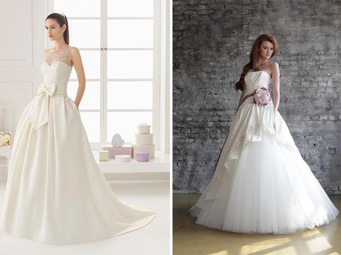 Свадебные наряды для миниатюрных невест