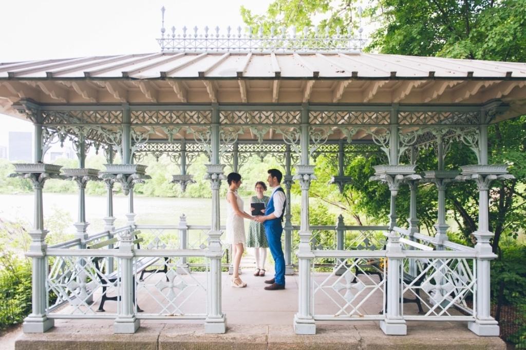 Ботанический сад – прекрасное место для свадебной прогулки