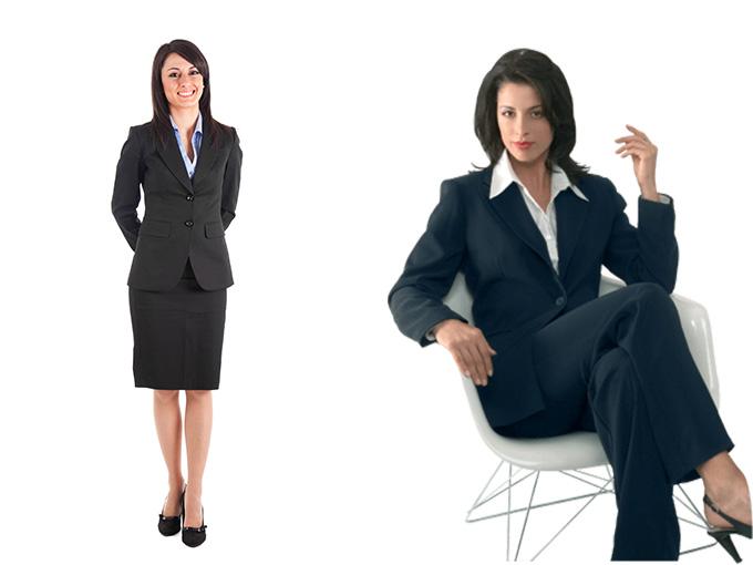 Деловой женский стиль в одежде
