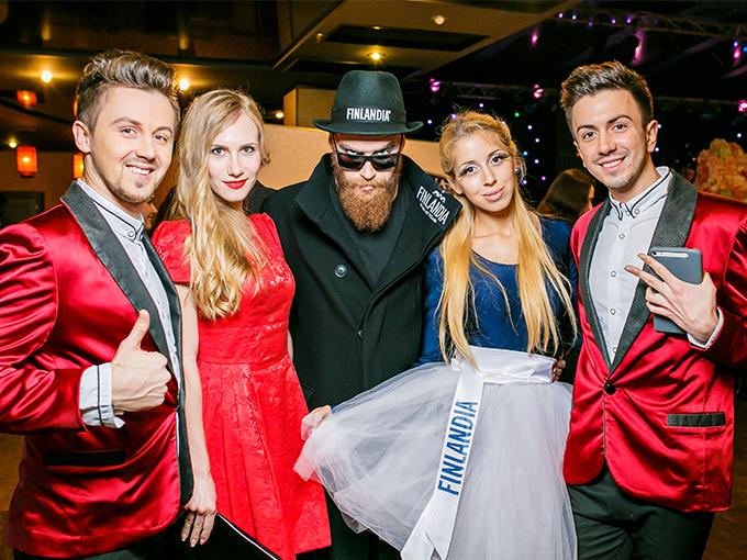 Свадебный бал - Алкогольный партнер ТМ Finlandia