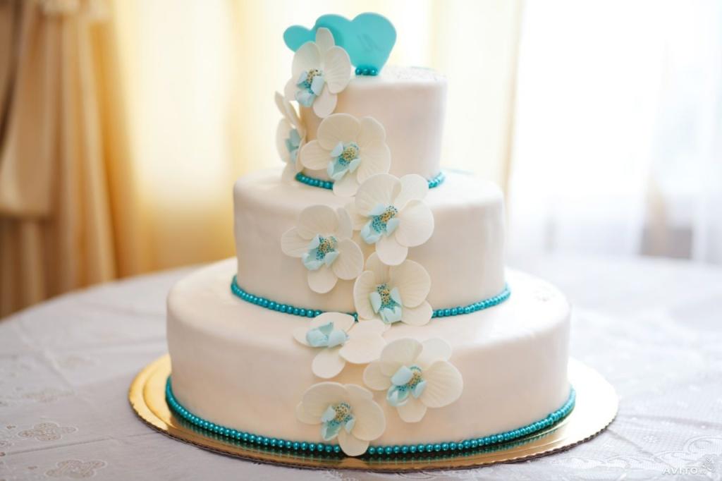 Великолепный свадебный торт