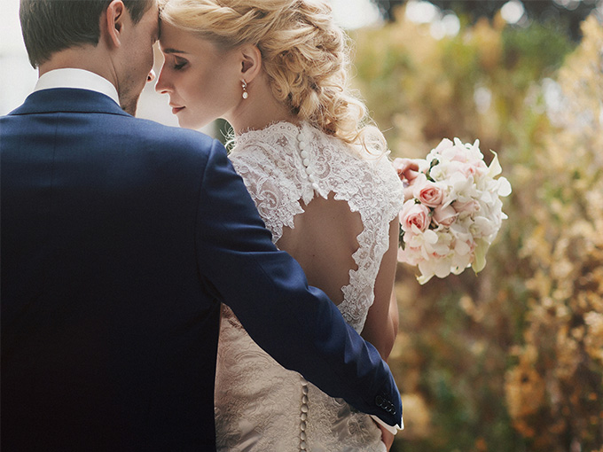 Удачный образ невесты