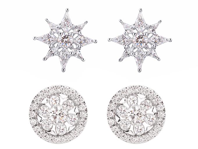 Бриллиантовые пуссеты