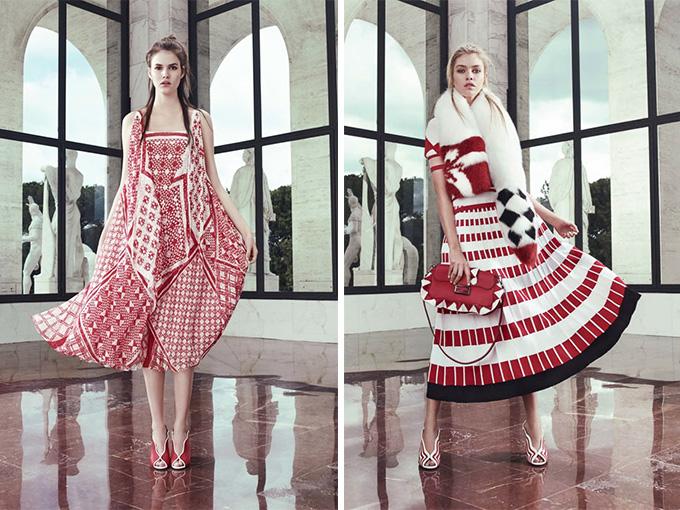 Украинские мотиви в новой коллекции Fendi