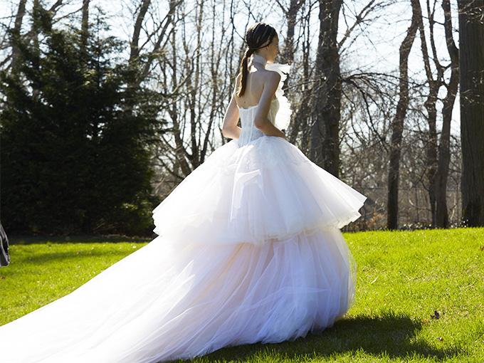 Свадебная коллекция Vera Wang весна 2017