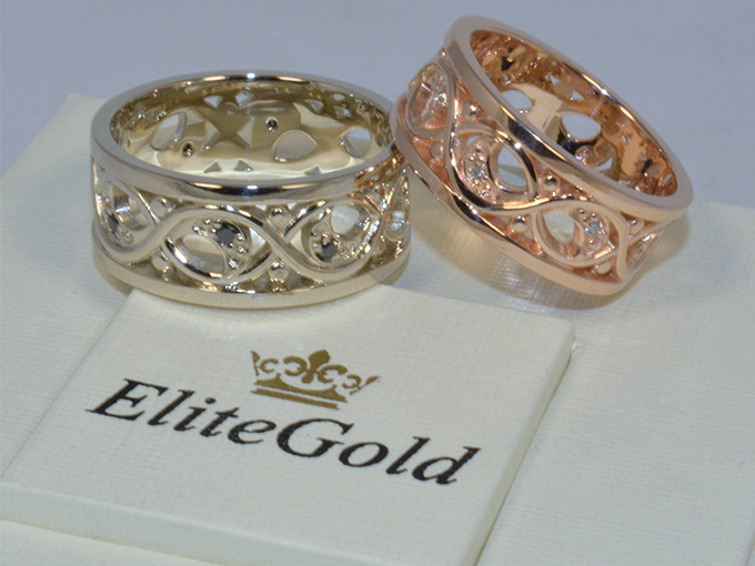 Обручальные кольца от Elite Gold