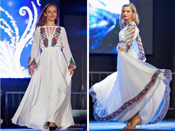 Сукні від Оксани Полонець