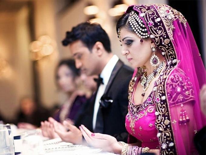 Мусульманське весілля - одяг молодят