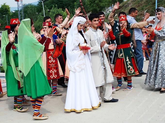 Армянская свадьба за старыми обычаями