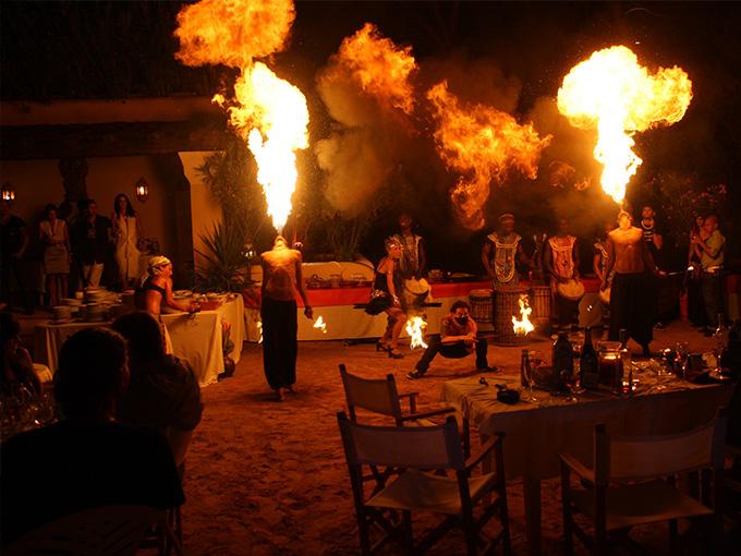 Fire-show на весіллі