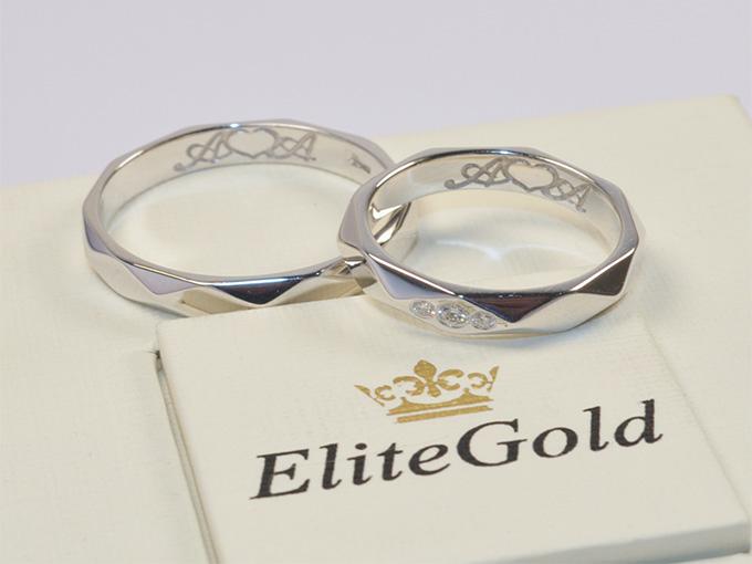 Обручальные кольца с бриллиантами от Еlitegold