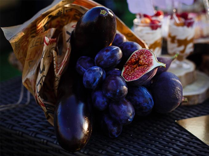 Овощной букет как подарок на свадьбу