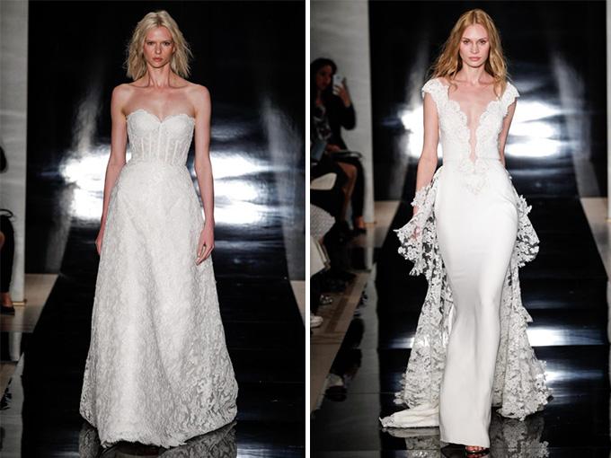 Свадебные платья от Reem Acra