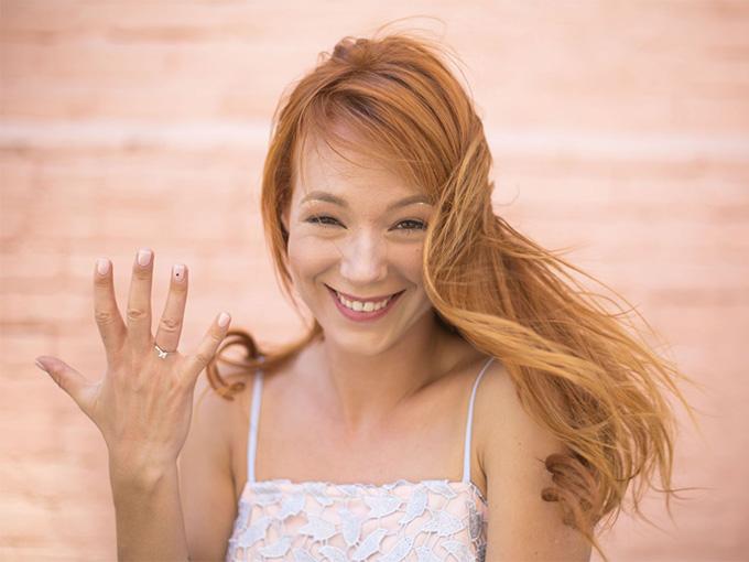 Светлана Тарабарова и  ее обручальное кольцо