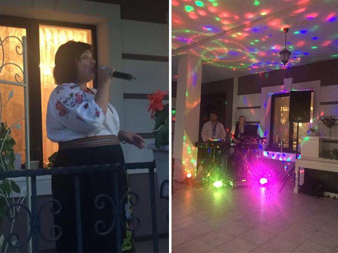 Вечера Украинской песни в ресторане 'Боровик'