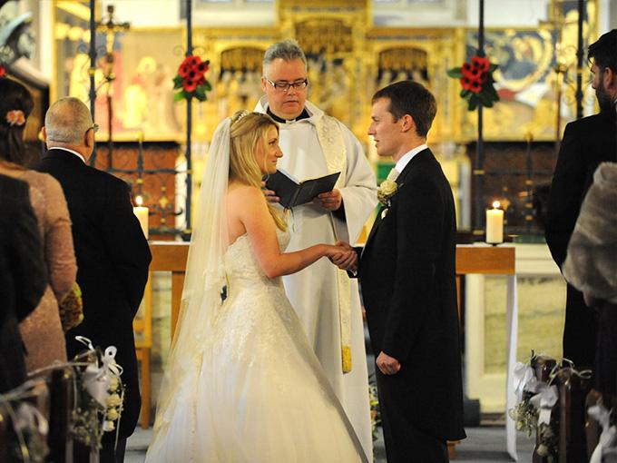 Венчание в католической церкви - вопросы священника