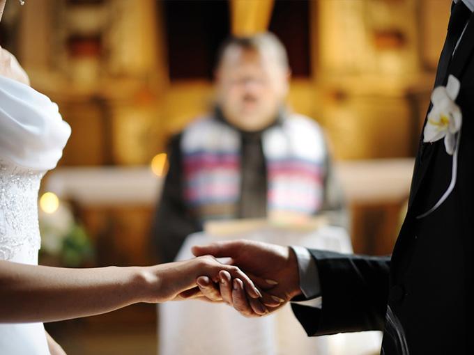 Вінчання в церкві