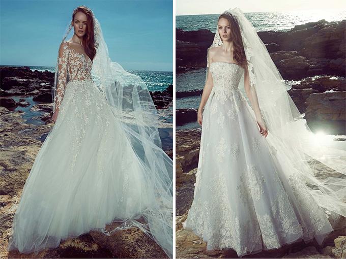 Божествені весільні сукні Зухаіра Мурада, весна-літо 2017 року
