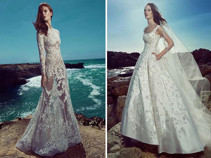 Божественные свадебные платья Зухаира Мурада