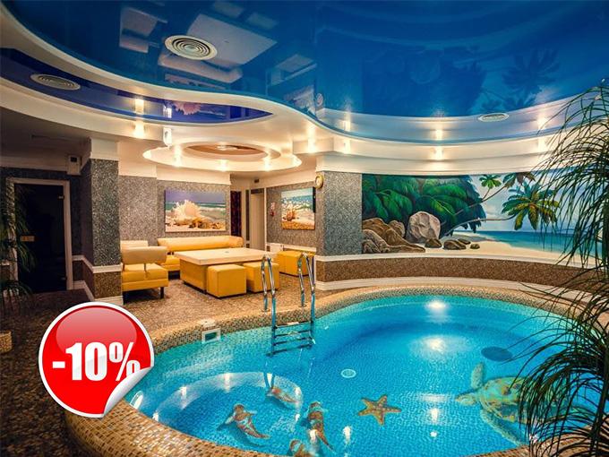 Бонус от отеля гостинично-ресторанного комплекса 'Софиевский Посад'
